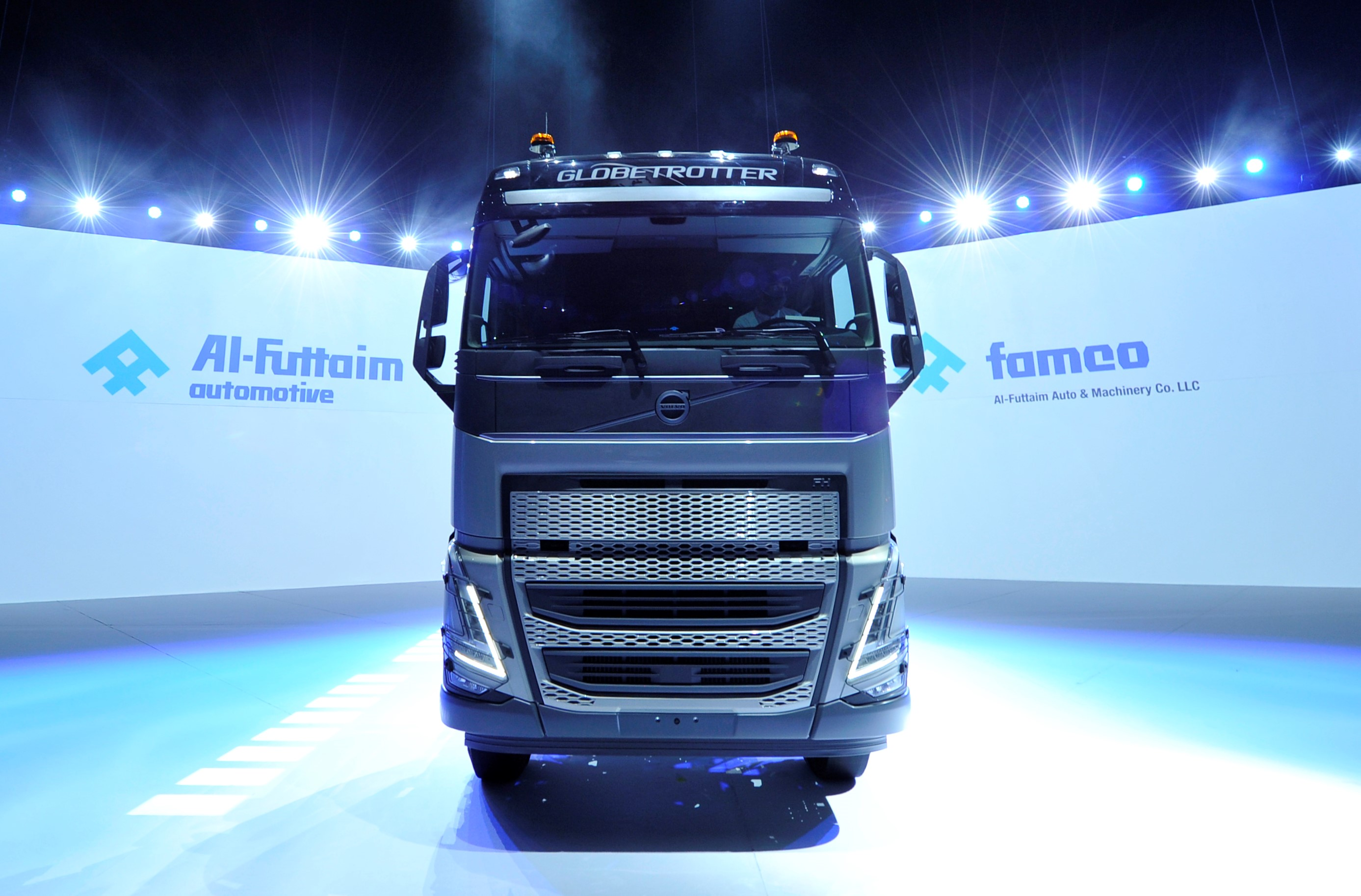 """FAMCO (Al-Futtaim Auto & Machinery Company), the UAE's leading heavy vehicle and machinery importer, has launched its new cutting-edge Volvo Trucks range as it reinforces its market-leading position in the Emirates. The new-generation FH, FM and FMX heavy-duty trucks have been redesigned to deliver even higher levels of productivity, class-leading safety features, as well as a more driver-friendly experience with an enhanced driver interface, interior space and overall visibility. These advanced models deliver a stronger return on range, giving users an environmental and financial saving in the process. FAMCO and Volvo Trucks have been partners in the UAE since 1978 and have established a solid relationship that extends far beyond just the initial sales cycle. With the support of the Swedish truck brand, FAMCO has invested in state-of-the-art facilities and software that works with the customer to ensure world-class levels of service, uninterrupted parts availability and, most importantly, reduced downtime for vehicles in the field. """"Revealing these new trucks in the presence of members of the Volvo Trucks international team is not only an honour, but also a return to some form of normality for us at FAMCO,"""" said Ramez Hamdan, Managing Director of FAMCO and Commercial Vehicles. """"FAMCO and Volvo Trucks truly are a team working closely together on a daily basis. And that is the secret to the success of these two brands, which then benefits our customers: bringing class-leading products to the market and providing the support and guidance our customers need, regardless of their industry or usage."""" """"In these challenging times, launching our new FH, FM and FMX models in the UAE has been a real team effort from everyone involved,"""" said Frank O'Connor, Vice President - Middle East and Turkey, Volvo Trucks International. """"With a strong focus on the driver environment, safety and productivity, this new line-up will help us to deliver on our promise to be our customers' best """